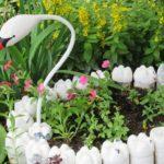 садовые фигуры своими руками для дачи